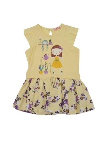 Zeyland Sarı Flowers Baskılı Elbise (6ay-4yaş) Sarı Flowers Baskılı Elbise (6ay-4yaş) Sarı